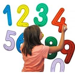 Números para trazar