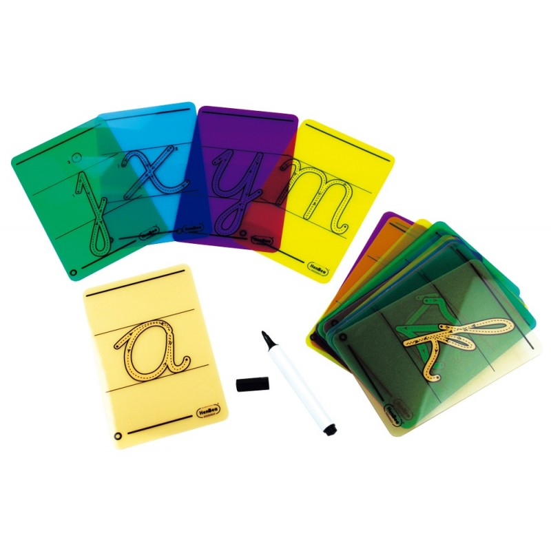 Cursive letters for tracing