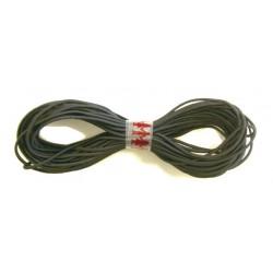 Black elastic for masks