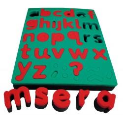 Kleinbuchstabenschwämme