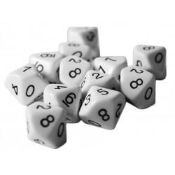12 - Ten sided dice