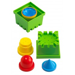 Moldes apilables agua y arena
