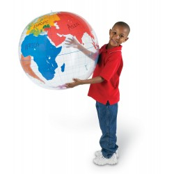 Wipe Clean Giant Inflatable Labelling Globe