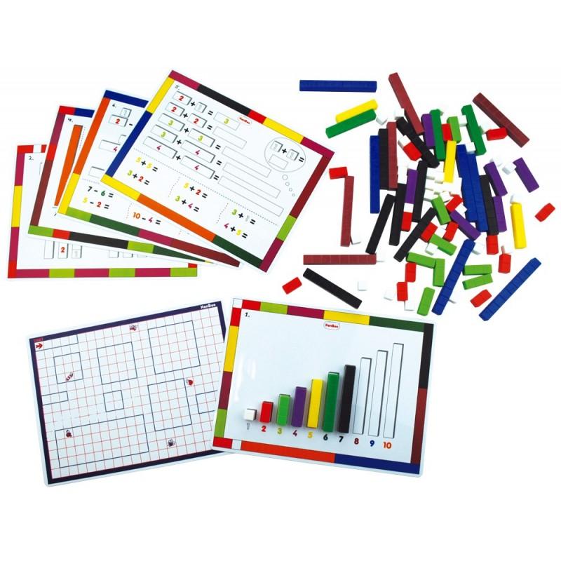 Tarjetas de actividades para utilizar con regletas