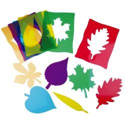 Silhouettes de feuilles Montessori