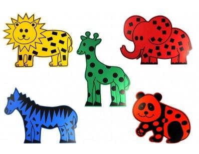 Animales gigantes. Zoo.
