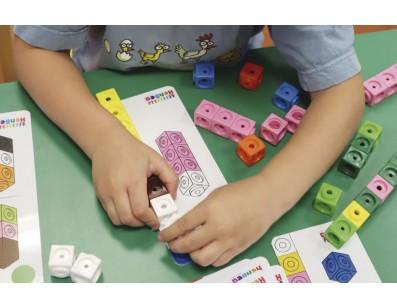 Actividades con cubos Mathlink