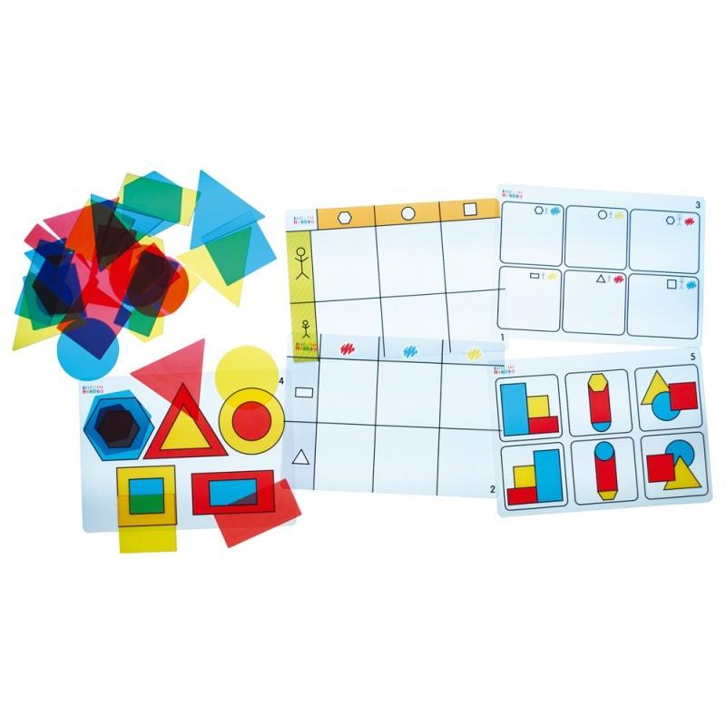 Transparent Attribute blocks – Activity kit