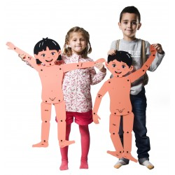 Articulated Boy and Girl