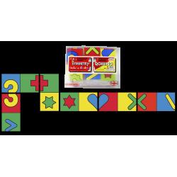 Giant Symmetrical domino